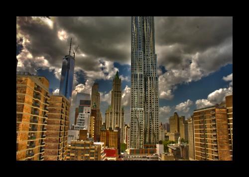 City Towers, HDR Digital Image, © 2014, Chris Pearce