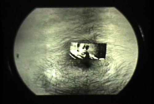 Momposition Film Still (Belly Button Portrait), 16mm Film Still, ©2000, Chris Pearce