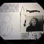 Momposition Film Still (Family Collage), 16mm Film Still, © 2000, Chris Pearce